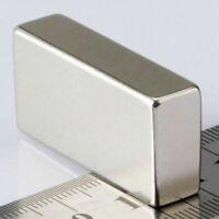 Neodym Magnete Quadermagnet 40x20x10mm Supermagnete Blockmagnet Grade N52 Magnet
