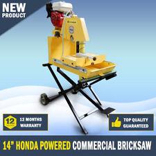 "NEW Bricksaw 14"" Honda Powered Commercial Brick Saw Stonesaw"