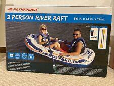 Pathfinder 2 Person River Raft, Hand Pump & Oars