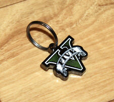 GTA V 5 Grand Theft Auto Rare Promo Metal Keychain PS3 PS4 Xbox One 360
