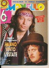 IL MONELLO 37 (15/9/89) VASCO ZUCCHERO DAVID BOWIE BRIDGET FONDA ZIGGY MARLEY