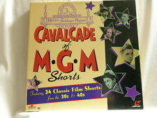CAVALCADE OF MGM SHORTS Buster Keaton Three Stooges LD 4 laserdisc box set