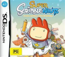Super Scribblenauts Nintendo DS Game USED