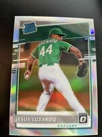 2020 Donruss Optic Jesus Luzardo Rated Rookie HOLO Silver Prizm RC HOT!🔥A's