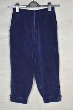 SWAINE ADENEY BRIGG Blue corduroy equestrian breeches jodhpur trousers XS 6?