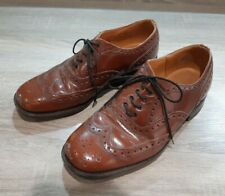 Vintage Brown Treadwells Leather Brogues Size 7 Upper and Sole