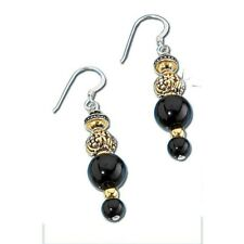 Franklin Mint El Cazador Beaded Drop Earrings D4J8642