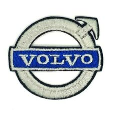VOLVO TRUCK PATCH NEW LOGO Sew / Iron on  White / Blue 1711