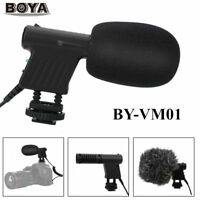 BOYA BY-VM01 Directional Video Condenser Microphone Mic For Nikon DSLR Camcorder
