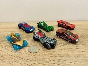Aquaman Flash Green Lantern Superman Wonder Woman Batman Hot Wheels Car Lot