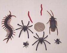 Falso Broma Broma realista insectos araña Cucaracha Gusano ciempiés-Reino Unido Stock