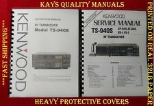 High Quality Kenwood TS-940S Instruction & Service Manuals *C-MY OTHER MANUALS*
