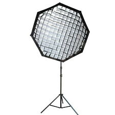 NEEWER  140cm portable OCTAGON beehive softbox with grid Bowens Mount