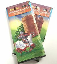 Jousing Knight Castle Prepasted Wallpaper 10 Yards Set of 2 Dutch Boy New Sealed