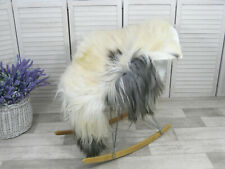 Sheepskin Rug Real Icelandic Soft Fur Natural Shaggy Sofa Floor Chair Cover G42