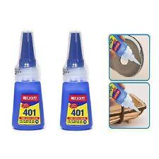 2 Pcs Henkel Loctite 401 Multi-Purpose Super Strong glue Instant adhesive 20g