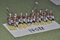 15mm roman era / selucid - cavalry 12 cavalry - cav (14088)