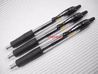 12 x Pilot G-2 0.5mm Extra Fine Retractable Rollerball Gel Ink Pen, Black