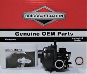 Genuine OEM  592361 Carburetor Briggs and Stratton  596587  Lawn Mower