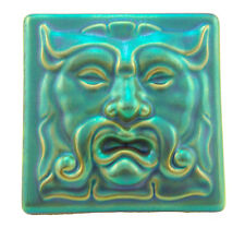 Zsolnay Iridescent Eosin Prometheus Tile