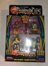vintage original kidworks THUNDERCATS 1986 EVIL MUTANTS mini figure set mib