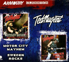 Ted Nugent ~ MOTOR CITY MAYHEM + SWEDEN ROCKS * BRAND NEW & SEALED 2CD *