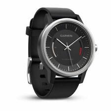 Garmin Vivomove Sports Watch Activity Tracker - Black Leather