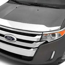 AVS 15-18 Ford F-150 Aeroskin Low Profile Hood Shield - Chrome