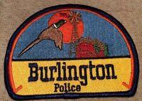 CO Burlington Colorado Police Patch