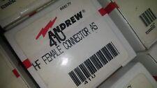 ANDREW TYPE 41U UHF FEMALE CONNECTOR Lot of (19) pcs
