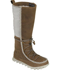 NEW THE NORTH FACE Womens Sisque Waterproof Tall Boot US 11/42 Sepia Brown/Ivory