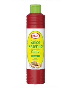 Hela Delicate Mild Curry Spice Ketchup 800ml No.1 for BBQ Summer DEAL