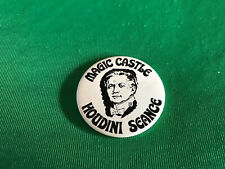 The Magic Castle - Vintage Houdini Seance Button
