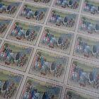 FEUILLE SHEET TIMBRE TABLEAU DUC DE BERRY N°1457 x25 1965 NEUF ** LUXE MNH