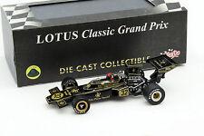 E. Fittipaldi Lotus 72D #32 Weltmeister Belgien GP Formel 1 1972 1:43 Quartzo