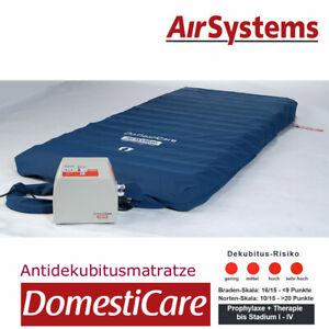Wechseldruckmatratze Domesticare AirSystems, Antidekubitus Therapie + Prophylaxe