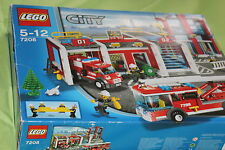 7208 LEGO City Fire Station 100% complete Brand new sealed box