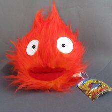 "Ghibli Studio Films Howl's Moving Castle 7"" Demon Calcifer Flame Plush toy NEW"