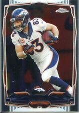 Topps Chrome Football 2014 Veteran Card #26 Wes Welker - Denver Broncos