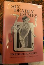 Six Deadly Dames, Frederick Nebel, Hardcover, Collectible