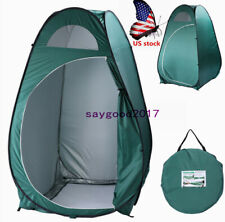 US Portable Tent Instant Pop Up Camping Shower Toilet Privacy Changing Room
