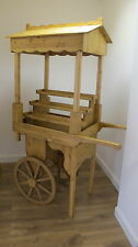 Retail sales market stall candy cart barrow event schools display
