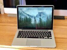 MacBook Pro 13 Retina Late 2013,  2.8 Intel i7, 16GB RAM, 512GB SSD Storage