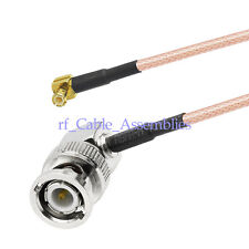 BNC to MCX plug male RA Pigtail Cable RG316 30cm for Broadband Router Ericsson
