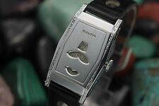 C. 1932 BULOVA 13AT Digital Jump Hour Art Deco Men's Dress Watch