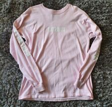 D•Stressed Urban Outfitters Pink Long Sleeve Oversized T-Shirt Top Size L 10-12