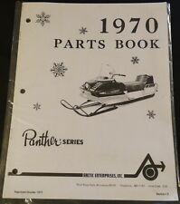 1970 Arctic Cat Snowmobile Panther Parts Manual P/N 0134-280 Copy