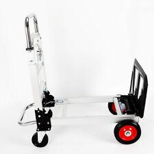 More details for heavy duty folding aluminumalloy hand sack truck barrow trolley cart load 100kg
