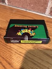 TRS-80 Shooting Gallery - Tandy Coco color computer cartridge - WORKS