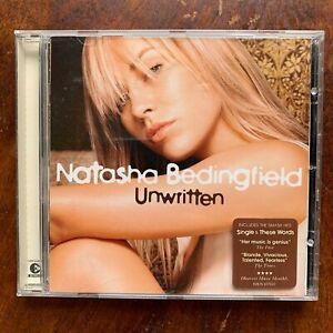"Natasha Bedingfield "" non Écrit CD Britannique Femelle Vocal Rock Pop 'Album"